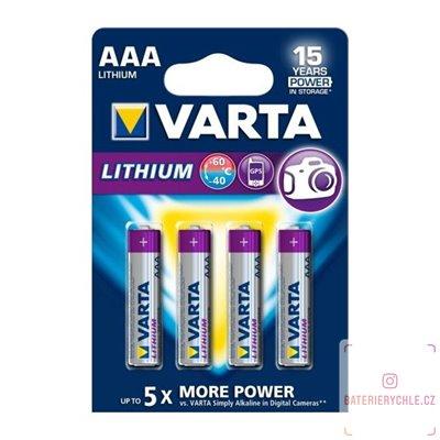 Baterie Varta Professional Lithium AAA 4ks