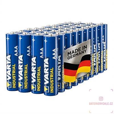 Baterie Varta Industrial AAA 40ks, bulk