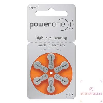 Baterie do naslouchadel Varta Power One 13 (PR48) 6ks, blistr