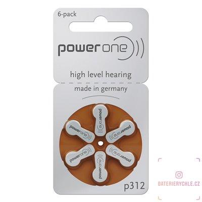 Baterie do naslouchadel Varta Power One 312 (PR41) 6ks, blistr