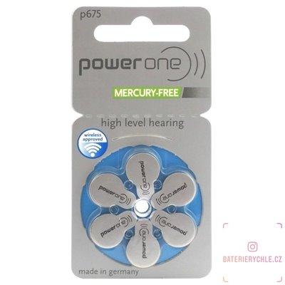 Baterie do naslouchadel Varta Power One 675 (PR44) 6ks, blistr