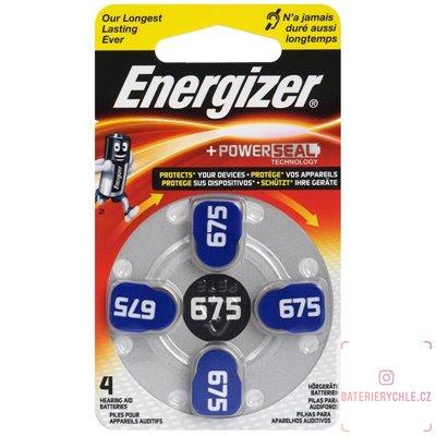 Baterie do naslouchadel Energizer 675 (PR44) 4ks, blistr