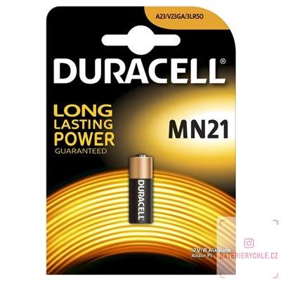 Baterie Duracell CR23A, MN21 1ks, blistr