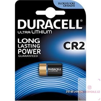 Baterie Duracell Lithium photo CR2 1ks, blistr