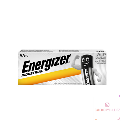 Baterie Energizer Industrial LR6 AA 10ks, box