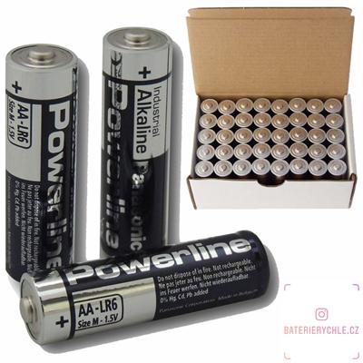 Baterie Panasonic Industrial LR6 AA 40ks, box