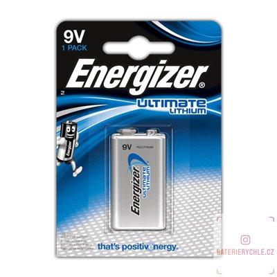 Baterie Energizer Ultimate 6LR61 9V 1ks, blistr