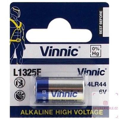 Baterie Vinnic 4LR44 alkalická 6V, 1ks, blistr