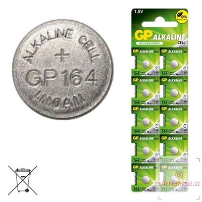 Knoflíková baterie GP Batteries LR621, 1.5V, 8mAh, alkalická