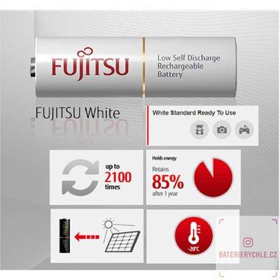 Baterie Fujitsu White AA 4ks HR-3UTCEX 1900mAh