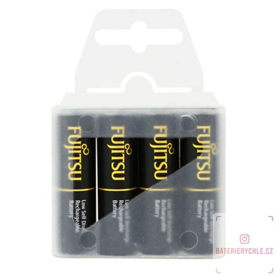 Baterie Fujitsu Black Pro AA 4ks FU-3UTHCEX 2450maH