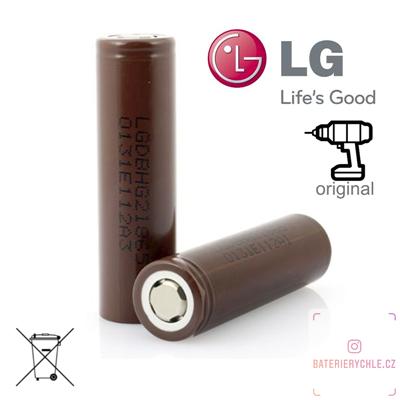 Baterie LG HG2 1ks 3000mAh (max.20A), volné balení