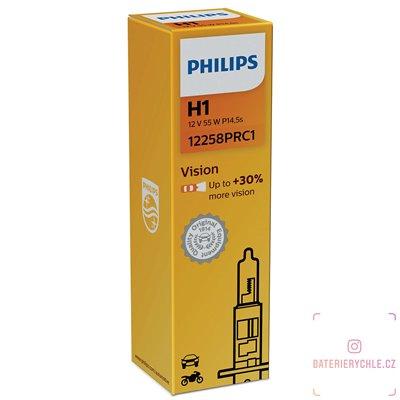 Autožárovka Philips VISION 12258PRC1-IMS H1, 12 V 55 W, 1ks