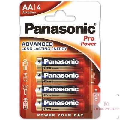 Baterie Panasonic Pro Power AA 4ks, blistr
