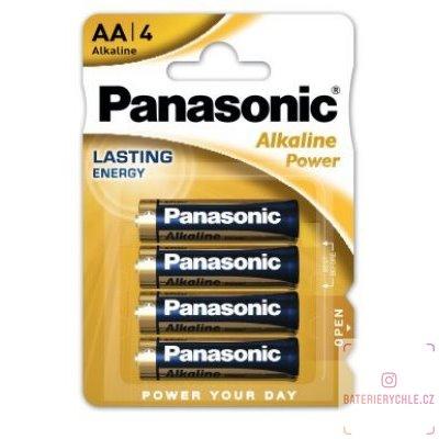 Baterie Panasonic Alkaline Power AA 4ks, blistr