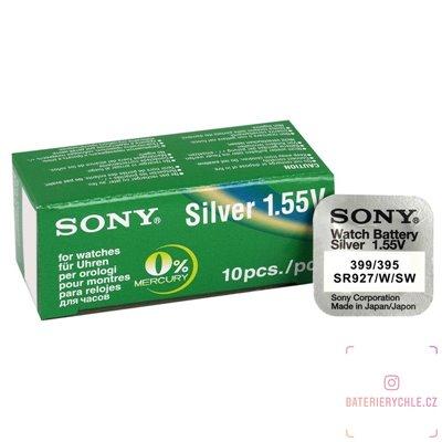 Hodinková baterie Sony 395, 399, G7 (SR927SW) 1ks