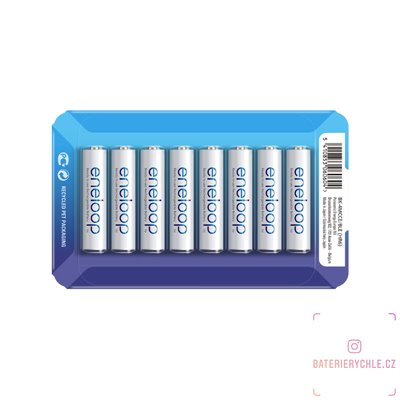 Baterie Panasonic Eneloop AAA 8ks (BK-4MCCE/8LE) 800mAh, blistr