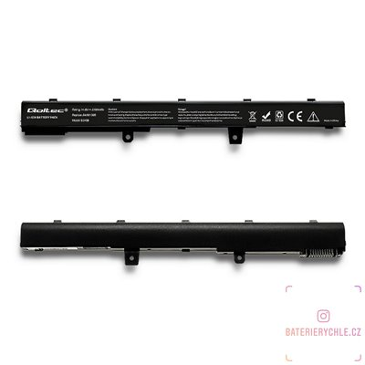 Baterie pro notebook Asus A41N1308, 2200mAh, 14.8V