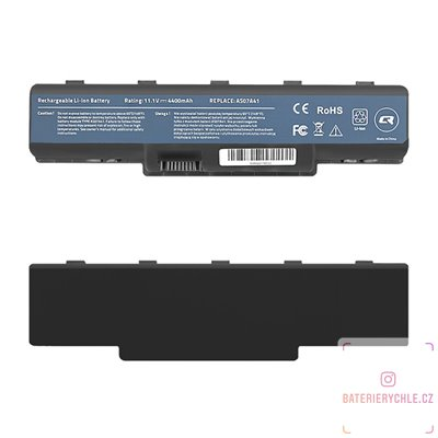 Baterie pro notebook Acer Aspire 4710, 4400mAh, 10.8-11.1V