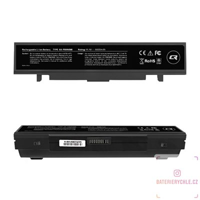 Baterie pro notebook Samsung R580, AA-PB9NS6B, 6600mAh, 10.8-11.1 V
