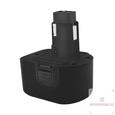 Baterie pro aku nářadí Dewalt DE9037, DE9071, 12V