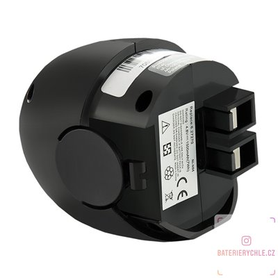 Baterie pro aku nářadí Metabo 6.27270, 6.27271, 4.8V