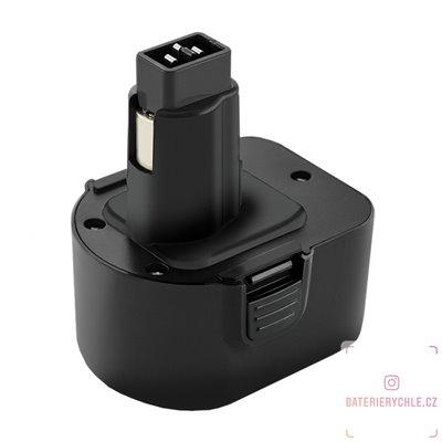 Baterie pro aku nářadí Black & Decker SL13YD, PS130A, 12V