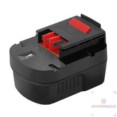 Baterie pro aku nářadí Black & Decker A12EX, B-8315, FS120B, 12V