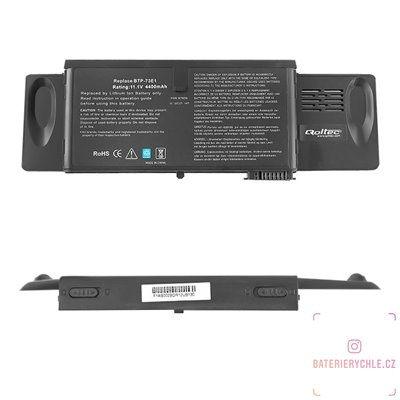 Baterie pro notebook Acer TravelMate 370, 4400mAh, 10.8-11.1V