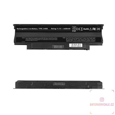 Baterie pro notebook Dell Inspiron 13R, 4400mAh, 10.8-11.1V