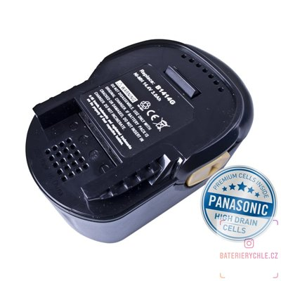 Baterie pro aku nářadí AEG  B1414G  Ni-MH 14,4V 3000mAh 1ks (Avacom, články Panasonic)