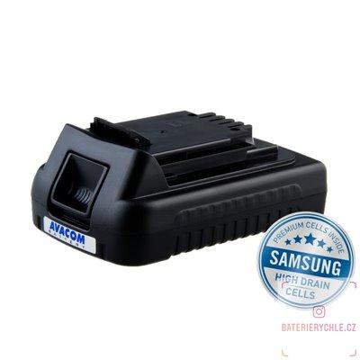 Baterie pro aku nářadí BLACK & DECKER LB20 Li-Ion 20V 2000mAh 1ks (Avacom, články Samsung)