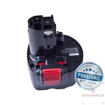 Baterie pro aku nářadí BOSCH BAT048/BAT100 Ni-MH 9,6V 3000mAh 1ks (Avacom, články Panasonic)