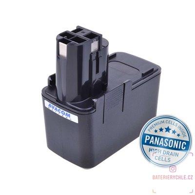Baterie pro aku nářadí BOSCH B2300,3300K Ni-MH 12V 3000mAh 1ks (Avacom, články Panasonic)