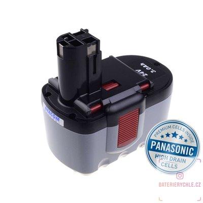 Baterie pro aku nářadí BOSCH GBH 24 VF Ni-MH 24V 3000mAh 1ks (Avacom, články Panasonic)