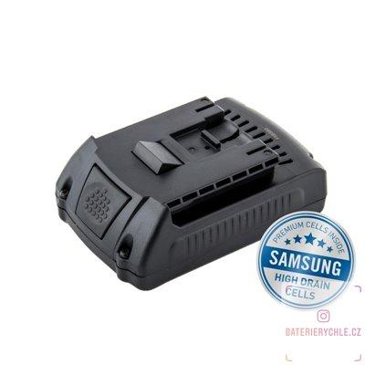 Baterie pro aku nářadí BOSCH GSR 18 V-LI, Li-Ion 18V 2000mAh 1ks (Avacom, články Samsung)