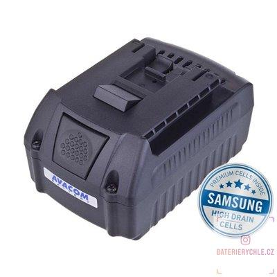 Baterie pro aku nářadí BOSCH GSR 18 V-LI, Li-Ion 18V 4000mAh 1ks (Avacom, články Samsung)