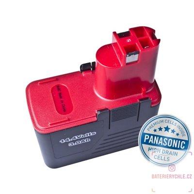 Baterie pro aku nářadí BOSCH PSR 14.4 VES-2 Ni-MH 14,4V 3000mAh 1ks (Avacom, články Panasonic)