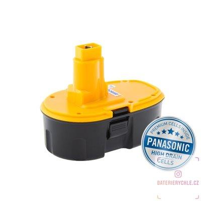 Baterie pro aku nářadí DEWALT DE9096 Ni-MH 18V 3000mAh 1ks (Avacom, články Panasonic)