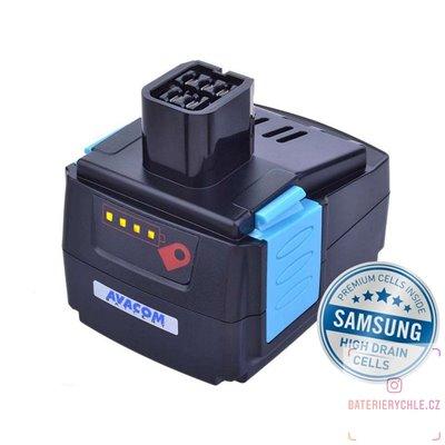 Baterie pro aku nářadí HILTI B 144/2.6 Li-Ion 14,4V 4000mAh 1ks (Avacom, články Samsung)