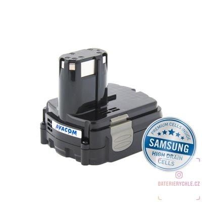 Baterie pro aku nářadí HITACHI BCL 1415 Li-Ion 14,4V 2000mAh 1ks (Avacom, články Samsung)