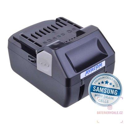 Baterie pro aku nářadí HITACHI BSL 1830 Li-Ion 18V 4000mAh 1ks (Avacom, články Samsung)
