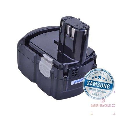 Baterie pro aku nářadí HITACHI EBM 1830 Li-Ion 18V 4000mAh 1ks (Avacom, články Samsung)