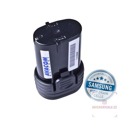Baterie pro aku nářadí MAKITA BL 7010 Li-Ion 7,2V 2000mAh 1ks (Avacom, články Samsung)