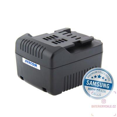 Baterie pro aku nářadí METABO BS 14,4 LTX Impuls Li-Ion 14,4V 4000mAh 1ks (Avacom, články Samsung)