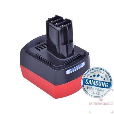 Baterie pro aku nářadí METABO BSZ 6.25486 Li-Ion 12V 4000mAh 1ks (Avacom, články Samsung)