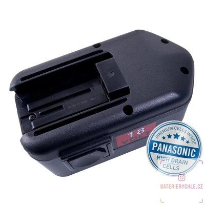 Baterie pro aku nářadí MILWAUKEE BXL 18 Ni-MH 18V 3000mAh 1ks (Avacom, články Panasonic)