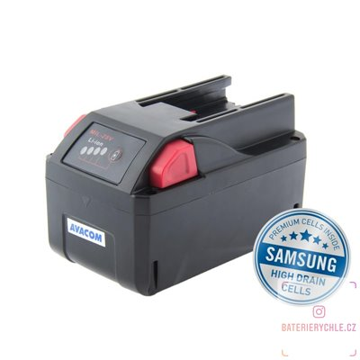 Baterie pro aku nářadí MILWAUKEE M28 Li-Ion 28V 4000mAh 1ks (Avacom, články Samsung)