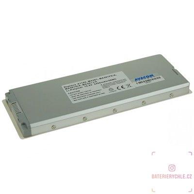 "Baterie pro notebook Apple MacBook 13"" A1185 Li-Pol 10,8V 5400mAh/58Wh white 1ks"