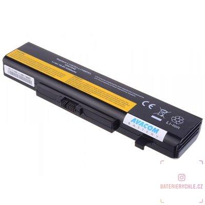 Baterie pro notebook Lenovo IdeaPad G580, Z380, Y580 series Li-Ion 11,1V 5200mAh/58Wh 1ks